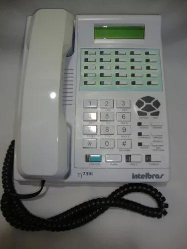 Terminal inteligente intelbras ti 730i p/ pabx usado ap.02
