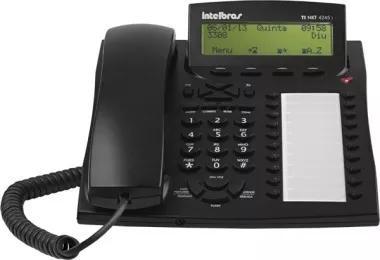 Terminal inteligente telefone - ti nkt 4245i preto intelbras