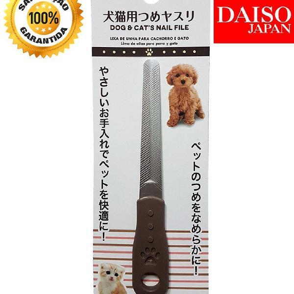 Aparador lixador lixa unhas pet cães gatos daiso japão