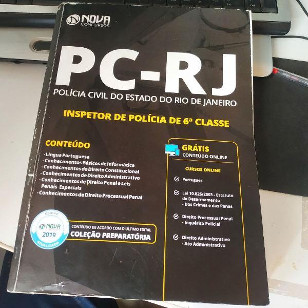 Apostila polícia civil rj inspetor 2019