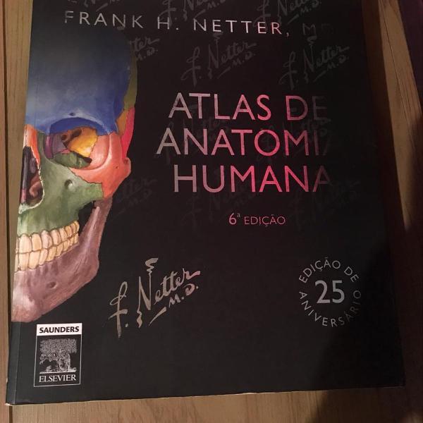 Atlas de anatomia humana - meter 6ª edição