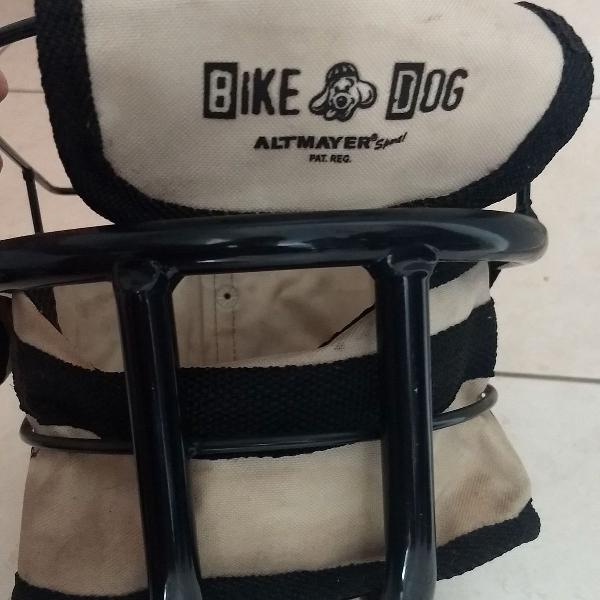 Bike dog - cestinha para transporte de cachorros de pequeno