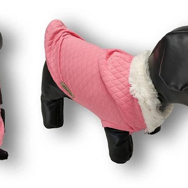 Blusa com capuz versailles rosa