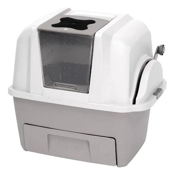 Caixa de areia sanitário para gatos easy clean american