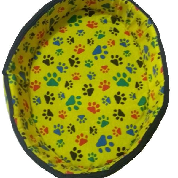 Caminha p/ cachorro amarela n° 5