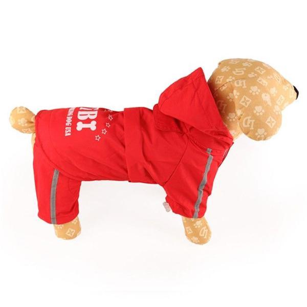 Capa de chuva para cães de médio grande porte