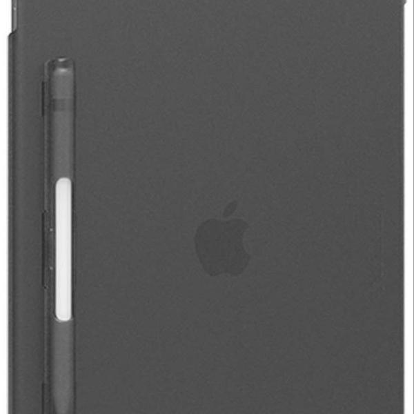 capa ipad 12,9 polegadas rígida cinza
