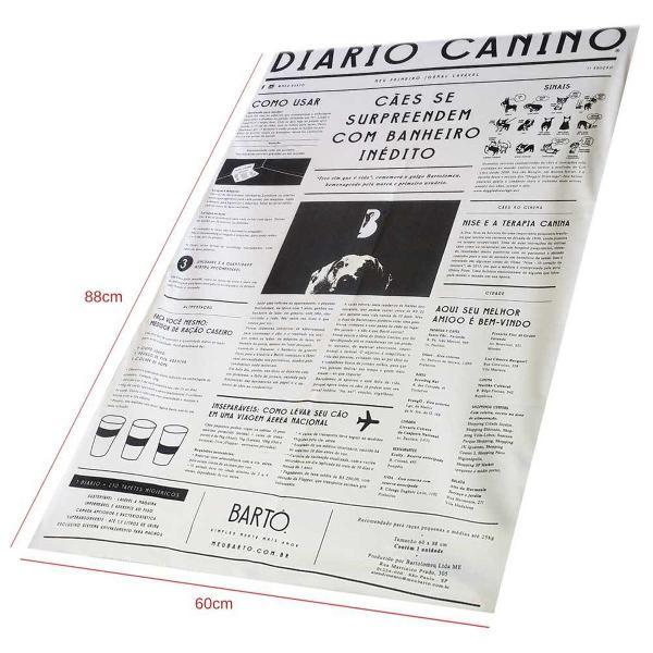 diário canino tapete higiênico lavável