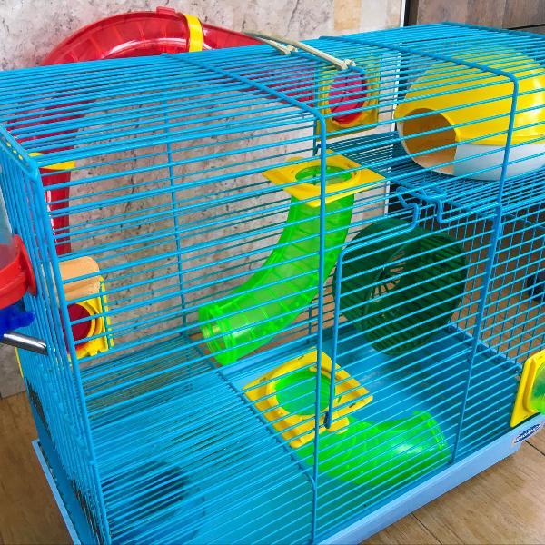 Gaiola grande de hamster