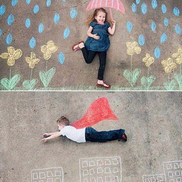 Giz creative kids 15 unidades crie fotos incríveis