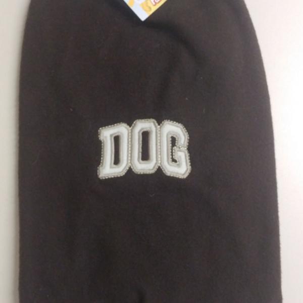 Novo] roupinha plush marrom - cães tamanho m