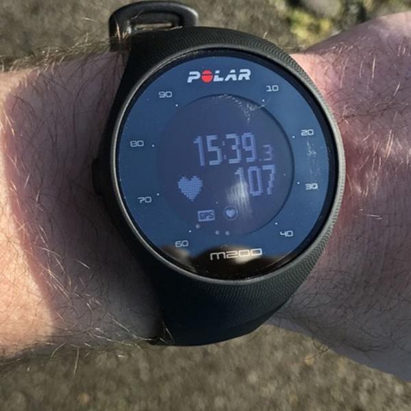 Polar m200 relógio gps