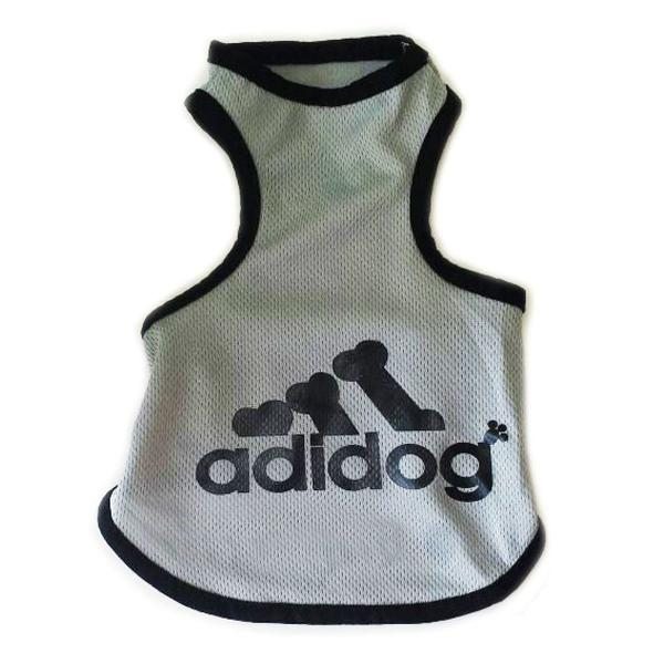 Roupa pet para cães cachorros cor cinza g