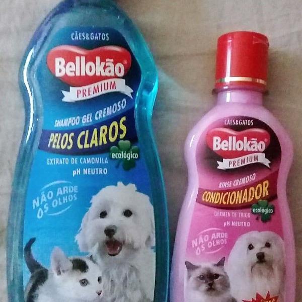 Shampoo e condicionador para pets