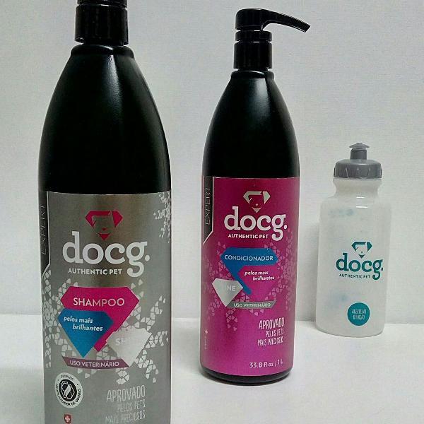 Shampoo e condicionador shine - linha expert (dosador