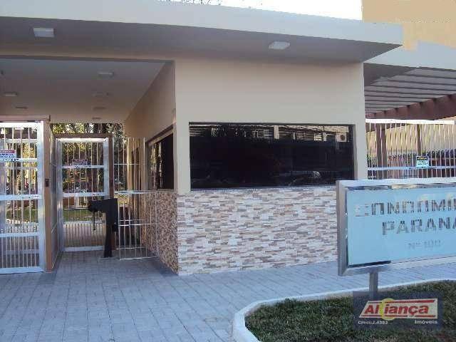 Apartamento residencial à venda, parque cecap, guarulhos -