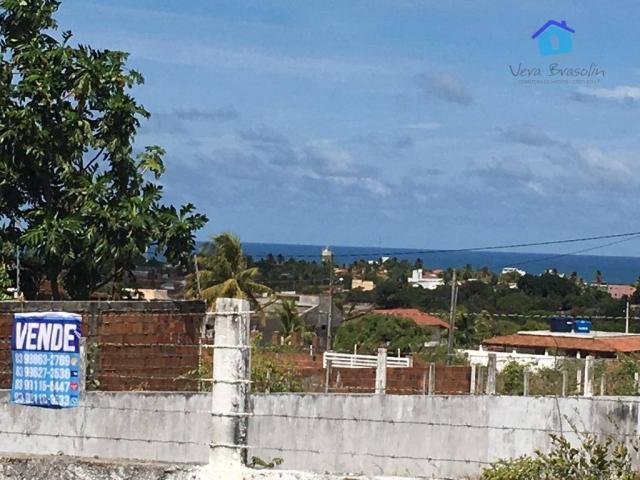 Lote murado, linda vista para o mar, 360 m2