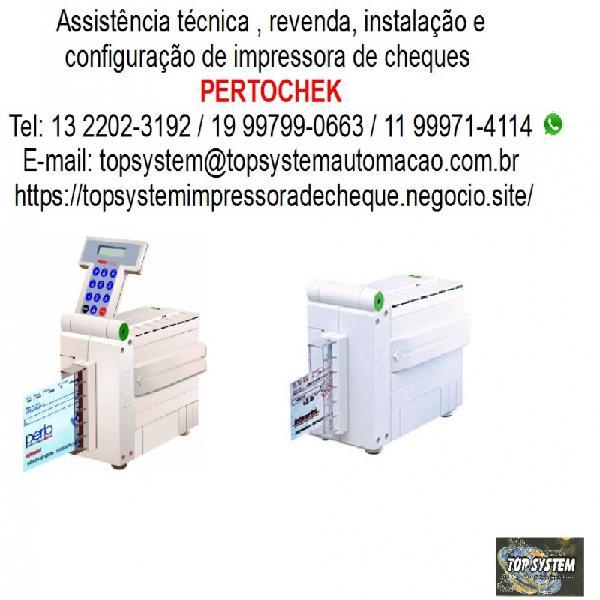 Assist técn autorizada pertochek impressora de cheques em