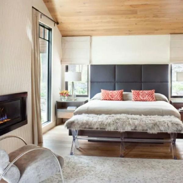 Cabeceira painel estofado para cama box 1,80cm x 0,80cm