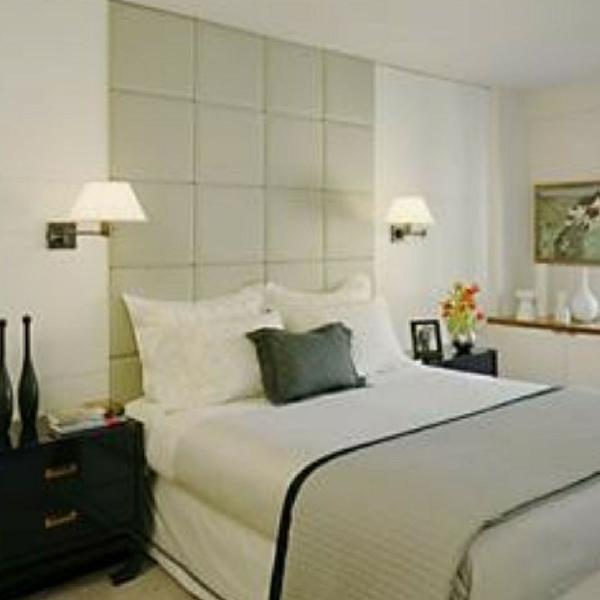 Cabeceira painel estofado para cama box 1.80cm x 2,25cm leia