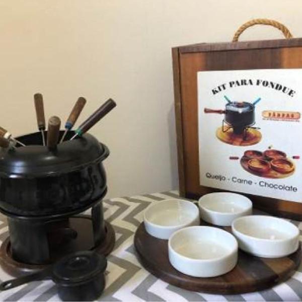Kit para fondue