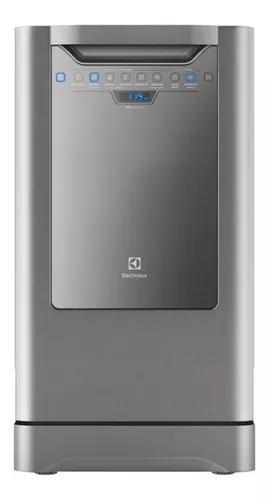 Lava-louça electrolux inox com 10 serviços.