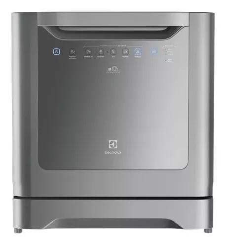 Lava-louças electrolux 8 serviços cinza.