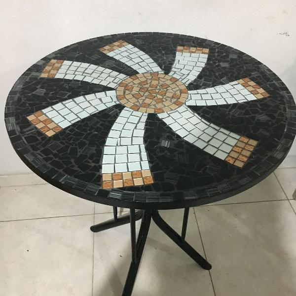 Mesa mosaico sol do oriente