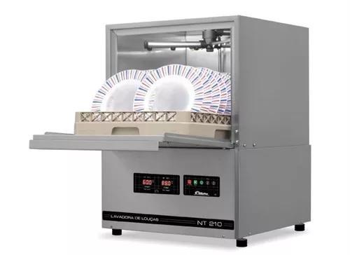 Maquina de lavar pratos industrial netter 210 e