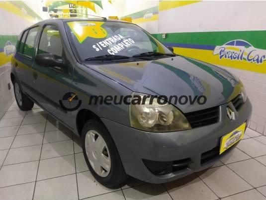 Renault clio hi-flex 1.0 16v 5p 2010/2011