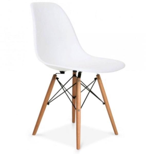 Cadeira charles eames - eiffel - branca - frete grátis