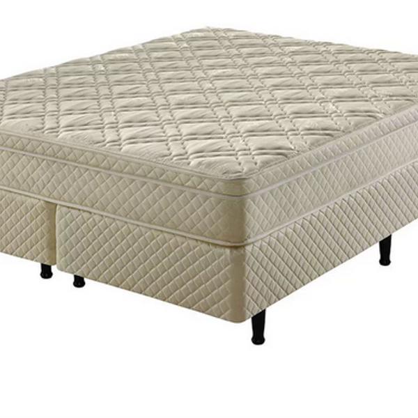 Conjunto cama box casal queen de molas ecoflex flex charm in