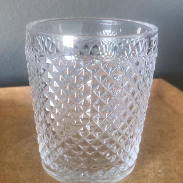 Copo vidro bico de jaca