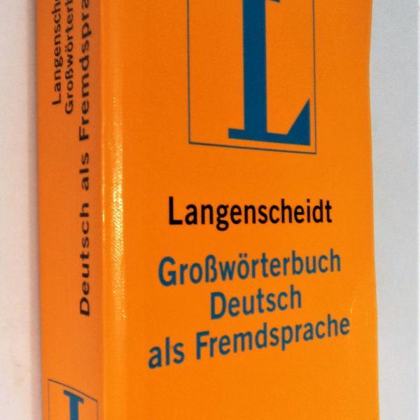 Frete grátis! - langenscheidt grosswoerterbuch deutsch als