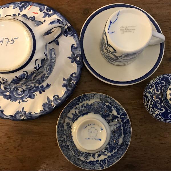 Kit azul - composto por 4 peças