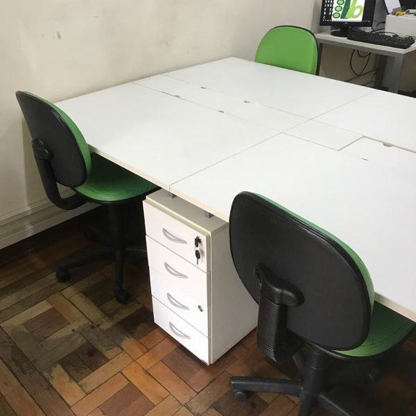 Mesa de escritório ricco