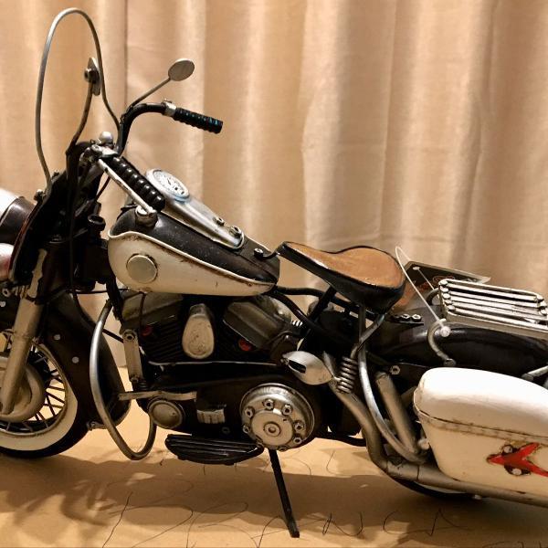 Moto harley davidson anos 1940