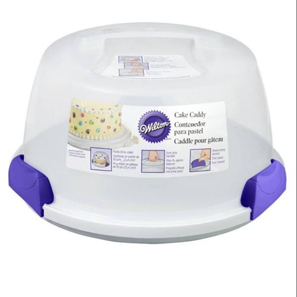 Porta bolo redondo cake caddy - wilton