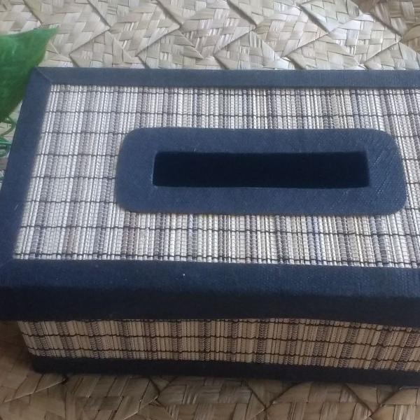 Porta lenços de papel em bambu indonesia