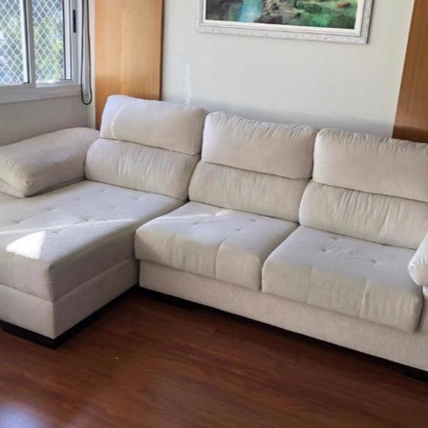 Sofa chaise retrátil