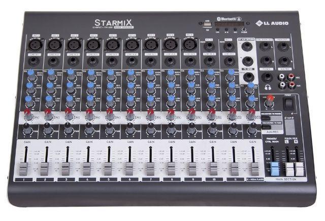 Mesa de som ll áudio xms1202d