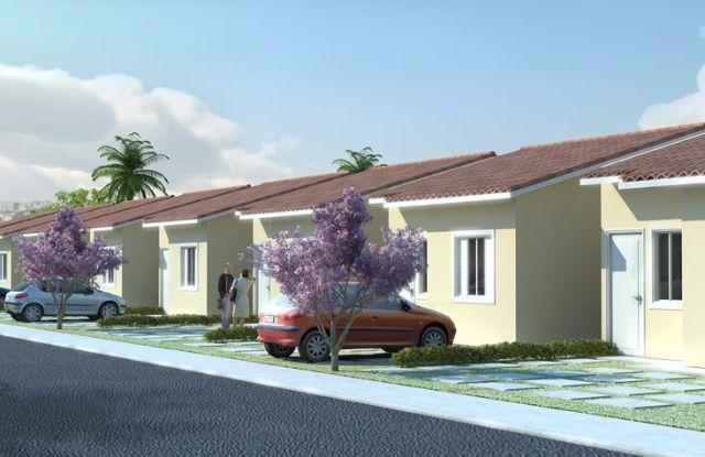 Casas 2 Dorms. - Residencial Ouro Verde I e II - MCMV