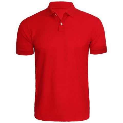 Camisa polo lisa para personalização com estampas ou