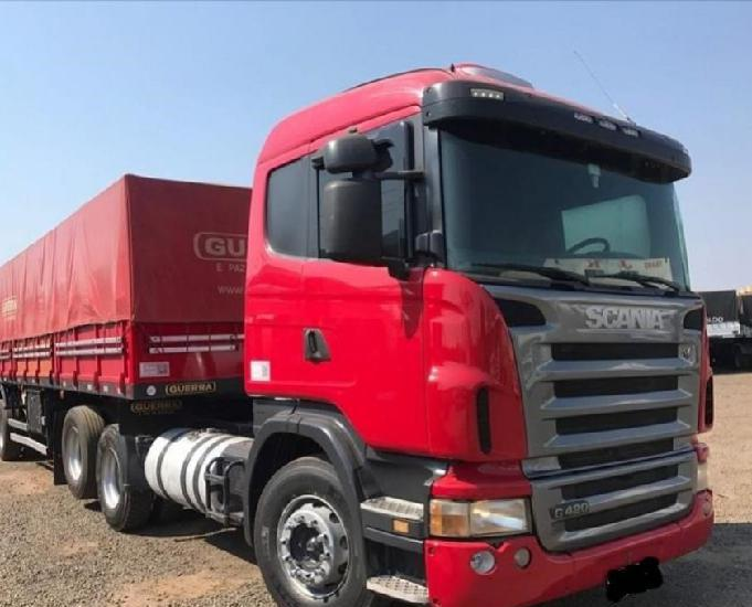Scania g420 6x2 ano 2009 ccarreta ls