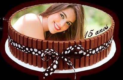 Papel de arroz com sua foto ou logomarca no seu bolo