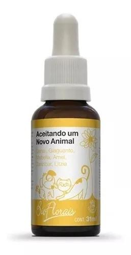 Bio Florais Cães E Gatos - Aceitando Um Novo Animal 37ml
