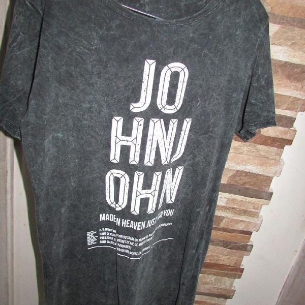 Camiseta long line john john