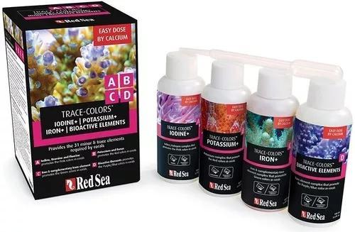 Kit red sea colors a/b/c/d para coloração dos corais