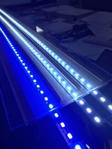 Luminária super led branco 6.500k 25watts/m - 40cm aquário