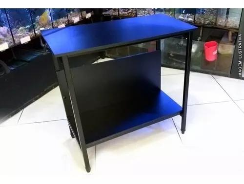 Rack metalon / móvel p/ aquários de 96 litros até 80x40cm